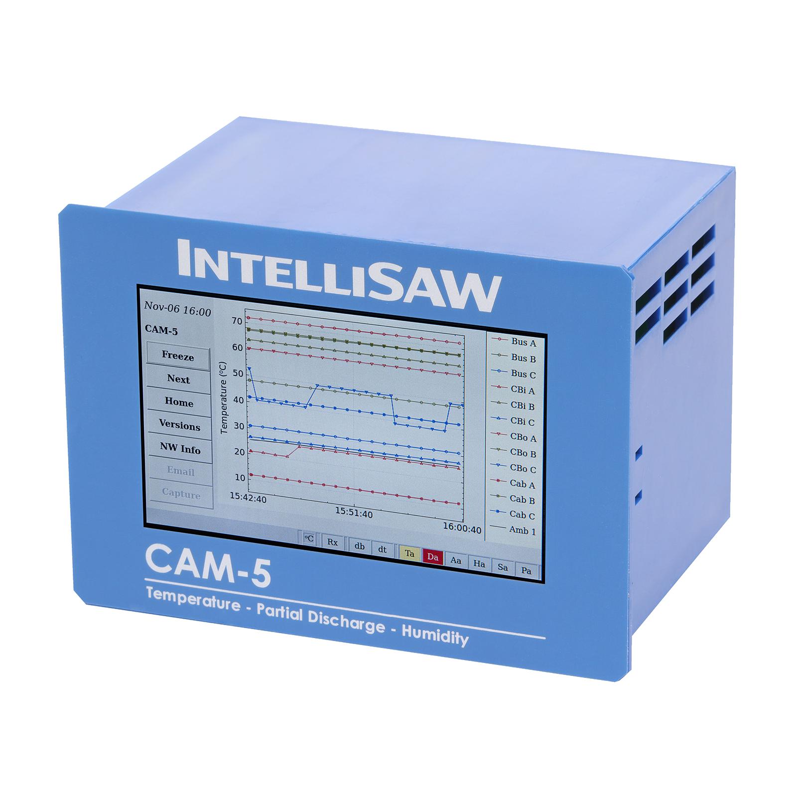 CAM-5 HMI|Critical asset monitoring