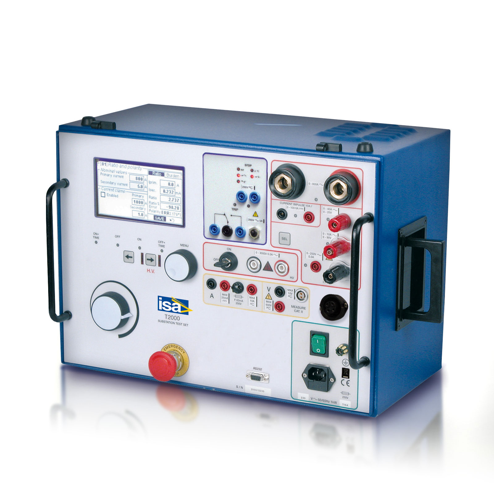 T 2000|Primary current injection test set